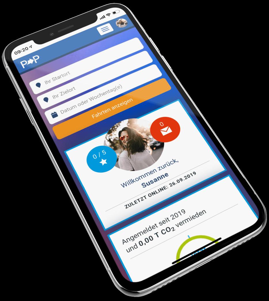 Pendler Portal App