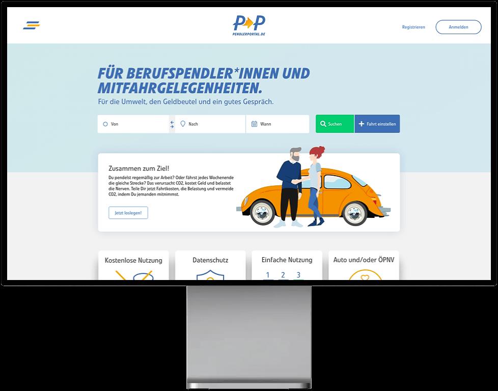 PendlerPortal-Desktop-Vorschau